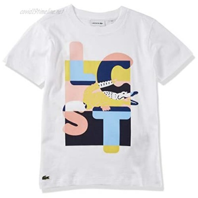 Lacoste Girls Graphic T-Shirt