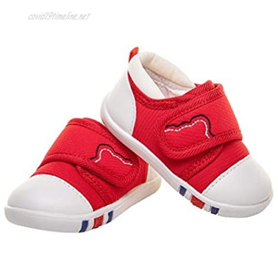 Running19 Baby Boys Girls Sneakers Toddler Velcro Rubber Soft Bottom Non-Slip Casual Shoes First Walker