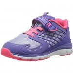 Stride Rite Baby-Girl's Made 2 Play Cannan Sneaker Blue/Pink 4 W US Toddler