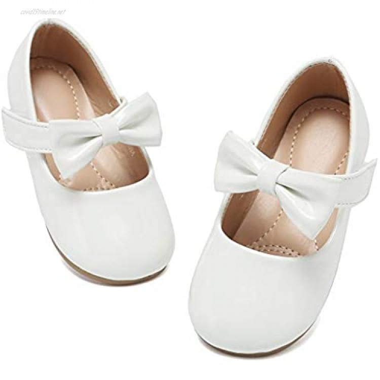 Toddler Shoes Girl's Ballerina Flat Shoes Mary Jane Dress Shoes