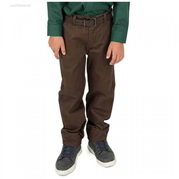 Leveret Kids & Toddler Pants Boys Uniform Chino Pants Variety of Colors (Size 2-14 Years)