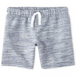 The Children's Place Boys' Marled French Terry Shorts
