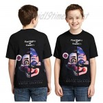 3D Printing Five Nights at Freddy's T-Shirts Street Fashion Tees for Boys and Girls Shirts