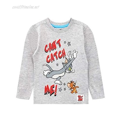 TOM and JERRY Boys' Long Sleeve Top