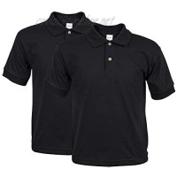 Gildan Youth Jersey Polo 2-Pack