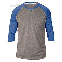EASTON RAGLAN Crew Neck Training Top   3/4 Sleeve   2020   Youth   Small   Athletic / Royal   Decorate Ready For Jersey
