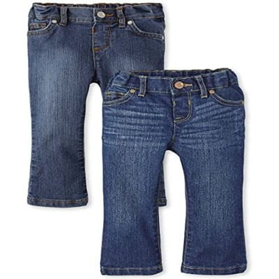 The Children's Place Girls' Two Pack Bootcut Jeans