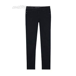 VIGOSS Pull On Jeans Girls Stretchy Jeans - Girls Skinny Jeans for Kids   Black Jeans for Girls Size 5