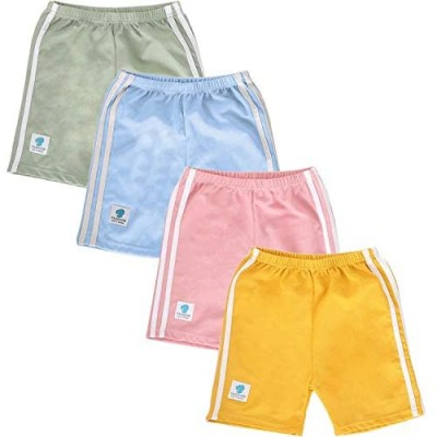 NEWITIN 4 Pieces Dance Shorts Girls Bike Short Breathable Comfortable and Safety Shorts 4 Colors