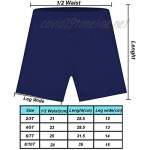 Ruisita 7 Pack Girls Shorts Solid Cotton Bike Shorts Underwear Dress Breathable and Safety