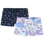 The Children's Place Girls' Basic Shorts Pack of Two