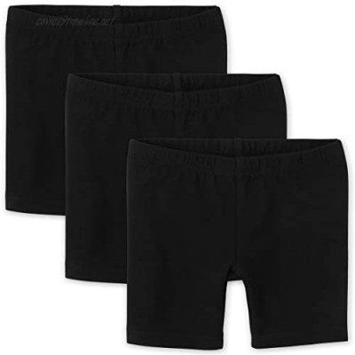 The Children's Place Toddler Girls Bike Shorts 3-Pack