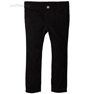 Dickies Little Girls' 5-Pocket Stretch Twill Pant